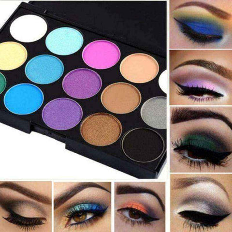 Eyeshadow palette 15 Colors Professional Makeup Shimmer Matte Set Kit