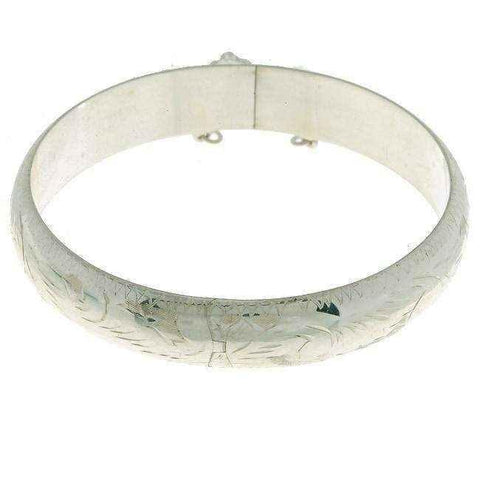 Engraved bangle bracelets |  7-inch Bracelet