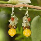 Tiger eye earrings | Sunshine