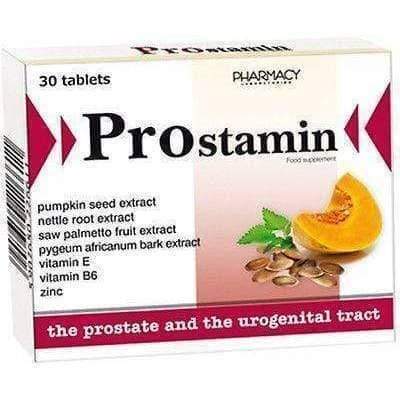 PROSTAMIN N30 for Prostate and Urogenical System, Sexual dysfunction - prostamin UK