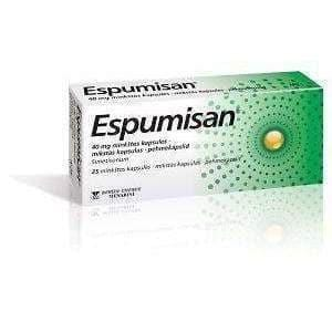 Espumisan 40mg 25 Stomach Bloating,Gas Relief, Meteorism Gastrocardiac UK UK