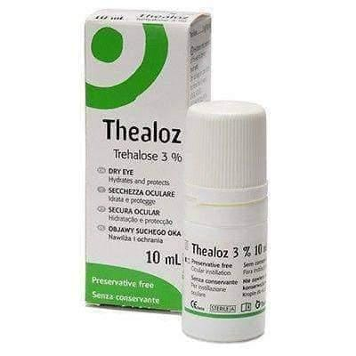 Thealoz 10ml Spectrum Thea Preservative Free for Dry Eye drops UK UK