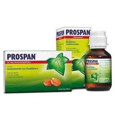 PROSPAN syrup 35mg/5ml 100ml. Chronic Inflammatory Bronchial UK Stock Hedelix
