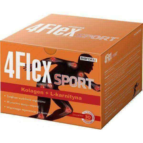 4FLEX SPORT x 30 sachets, fortigel UK
