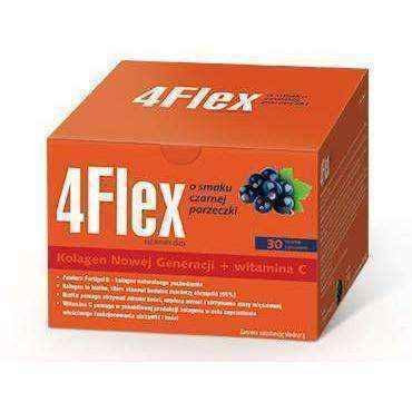4FLEX flavored blackcurrant x 30 sachets, joint movements UK