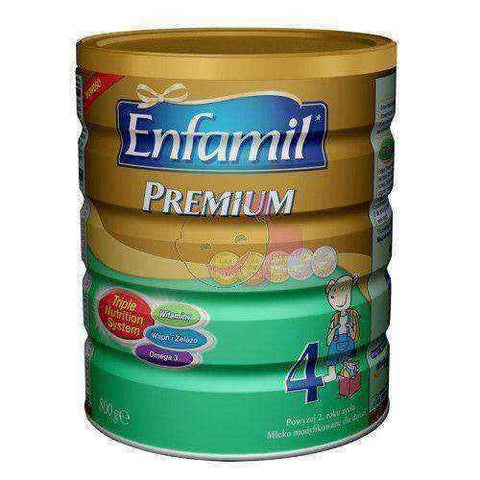 4 Enfamil PREMIUM Milk 800g over 2 years