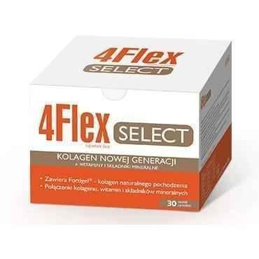 4 FLEX SELECT x 30 sachets, osteoporosis UK