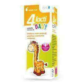 4 Lacti Baby drops 5ml infant probiotic drops, probiotics for children - ELIVERA UK, England, Britain, Review, Buy