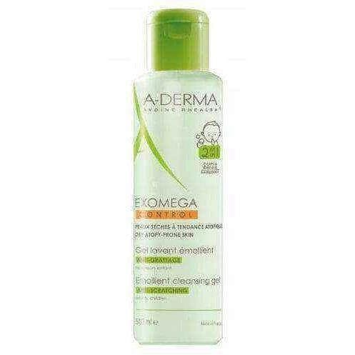 A-DERMA Exomega Control Emolient gel for washing 500ml