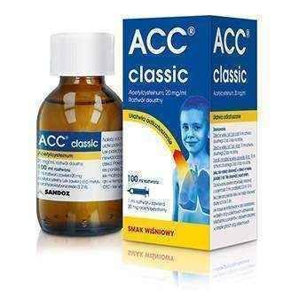ACC Classic 20mg / ml oral solution 100ml