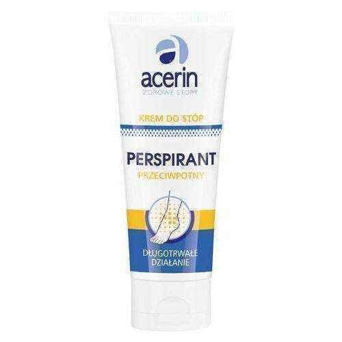 ACERIN Foot cream perspirant antiperspirant 75ml, antiperspirant for feet - ELIVERA UK, Reviews, Buy Online