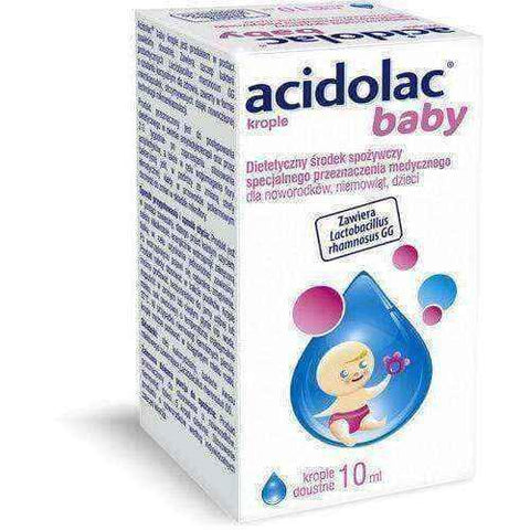 ACIDOLAC BABY oral drops 10ml, baby dropping - ELIVERA UK, England, Britain, Review, Buy
