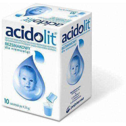 ACIDOLIT x 10 sachets tasteless - ELIVERA UK, England, Britain, Review, Buy