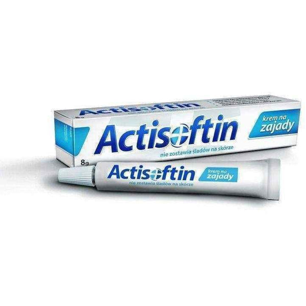 ACTISOFTIN Lip Cream 8g Fester Cracking of Lips Krem, dry lips treatment, chapped lips remedy UK