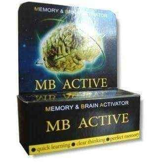 ACTIVE MB x 20 tablets, intellectual health
