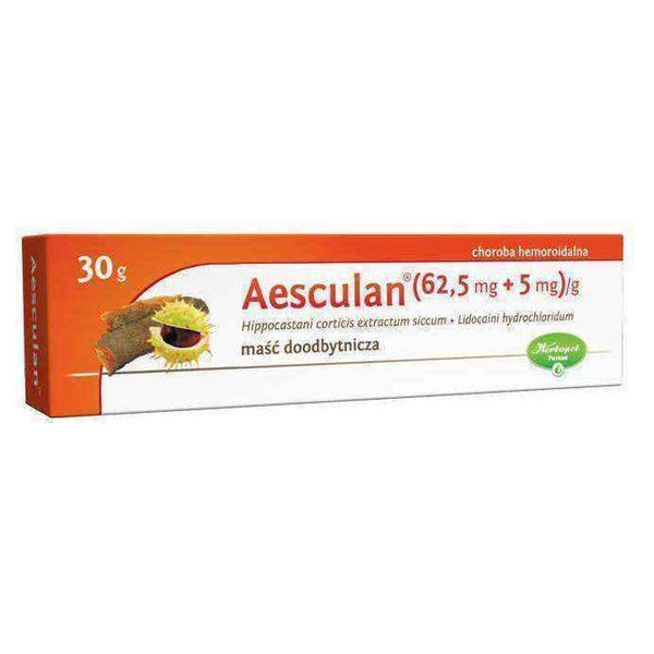 AESCULAN ointment 30g - ELIVERA UK, Reviews, Buy Online
