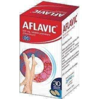 AFLAVIC 600mg x 30 tablets. leg pain, heavy legs - ELIVERA UK, England, Britain, Review, Buy