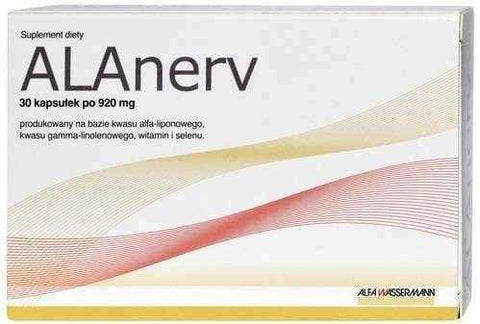 ALAnerv ON x 30 capsules - ELIVERA UK, England, Britain, Review, Buy