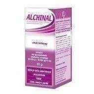 ALCHINAL powder for oral suspension 35g, inflammation of the throat UK