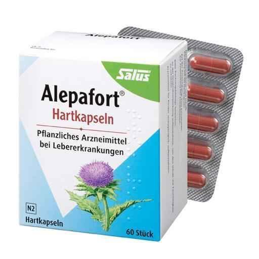 ALEPAFORT milk thistle hard capsules 60 pc - ELIVERA UK, Reviews, Buy Online