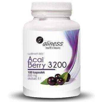 ALINESS Acai Berry 3200 x 100 capsules, ways to lose weight