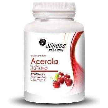 ALINESS Acerola 125mg x 120 tablets UK
