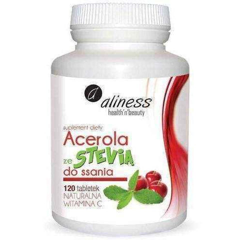 ALINESS Acerola Stevie x 120 lozenges UK