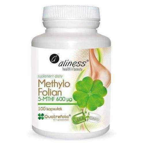 MethyloFolate 5 MTHF 600μg ALINESS x 100 capsules, l methylfolate