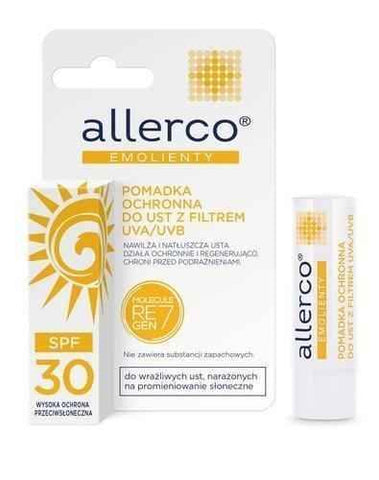ALLERCO Protective lipstick with UVA / UVB SPF30 filter x 1 piece