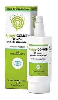ALLERGO-COMOD Eye drops 20mg / ml 10ml