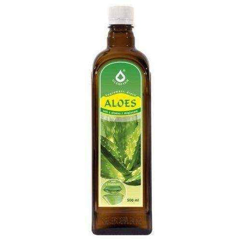 ALOE - Aloe juice with pulp 500ml, aloe vera juice benefits, aloe vera juice weight loss UK