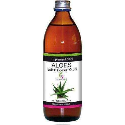 ALOE Aloe juice 99,8% liquid 1000ml, metabolic disorders - ELIVERA UK, England, Britain, Review, Buy