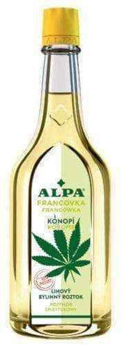 ALPA Francówka Hemp, 160ml spirit solution