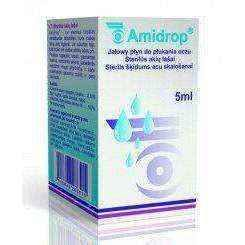 AMIDROP Mouthwash 5ml x 6 pieces - ELIVERA UK, England, Britain, Review, Buy
