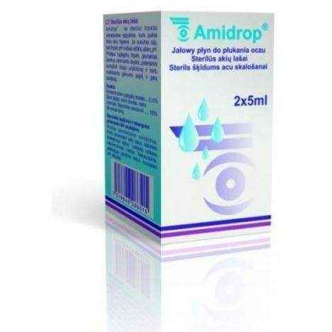 AMIDROP liquid 10ml, eye problems, itchy eyes - ELIVERA UK, England, Britain, Review, Buy