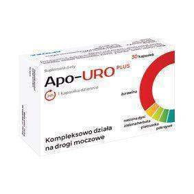APO-URO PLUS x 30 capsules urinary tract infection treatment