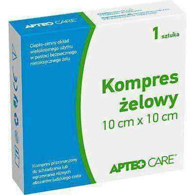 APTEO Care 10cm x 10cm x 1 piece gel compress