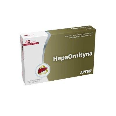 APTEO Hepaornityna choline x 40 tablets, choline supplement.