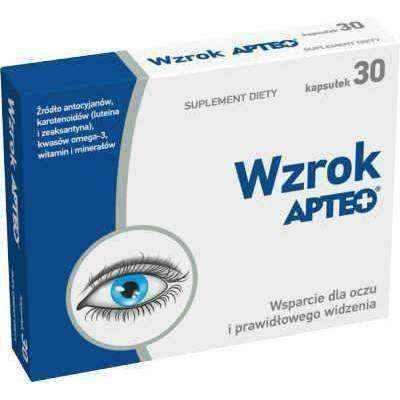 Correct vision APTEO sight x 30 capsules