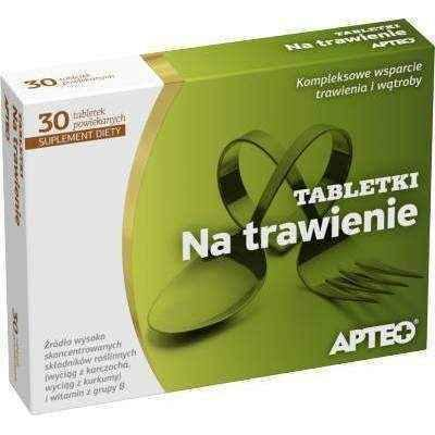 APTEO tablets digestion x 30 tablets.