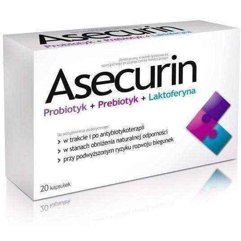 ASECURIN x 20 capsules