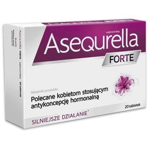Asequrella FORTE 20 Cover With Hormonal Contraception UK
