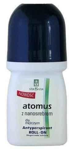 ATOMUS ROLL-ON Antiperspirant with nanosilver For men 50ml