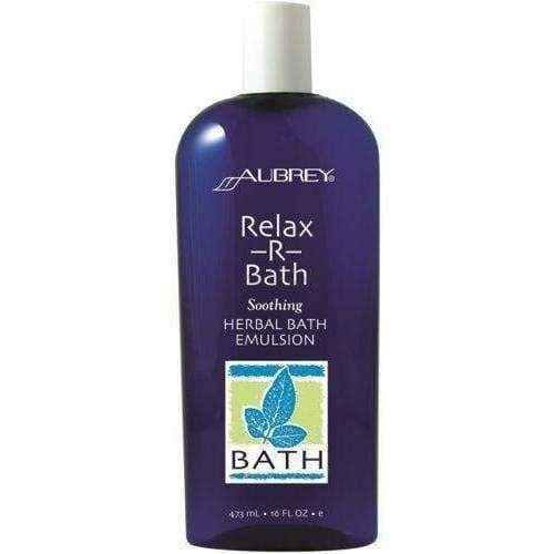 AUBREY Relax-R-Bath relaxing herbal bath lotion 473ml