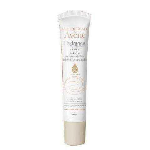 AVENE Hydrance Optimale cream smoothing skin color, light texture SPF30 40ml
