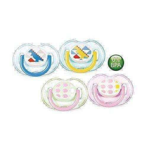 AVENT soother 0-6m Boy & Girl x 2 pieces 172/18