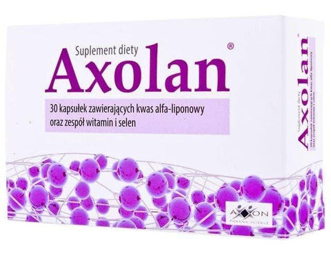 AXOLAN x 30 capsules burning sugar simple UK