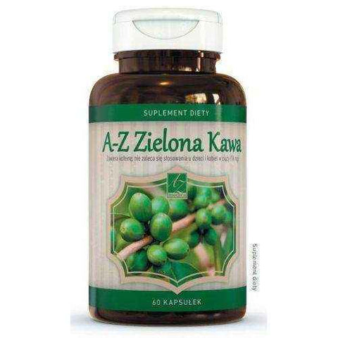 AZ Zelona Coffee x 60 capsules, weight loss