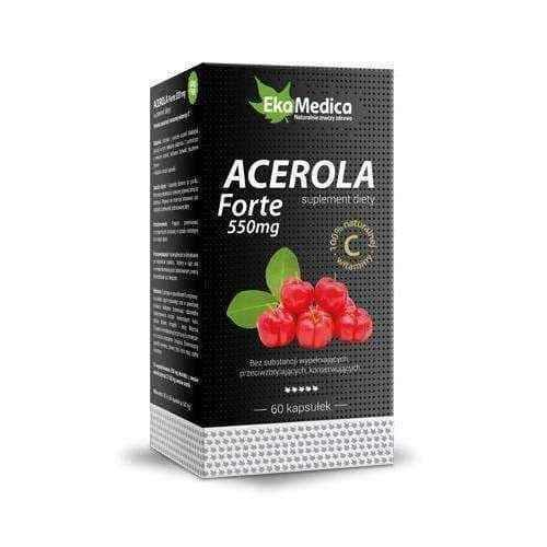 Acerola Forte 550mg x 60 capsules UK