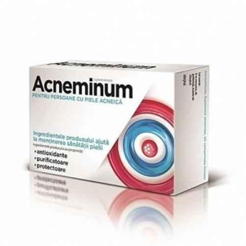 Acneminum 30 tablets for people with acne-prone skin UK